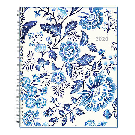 "Blue Sky™ Gabriella Weekly/Monthly Frosted Planner, 8-1/2"" x 11"", Multicolor, January To December 2020, 118537"