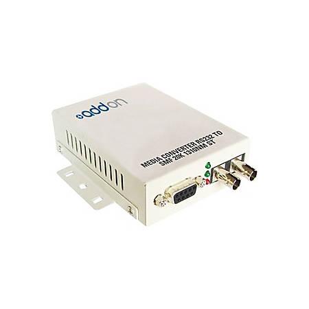 AddOn Serial RS232 to Fiber MMF 1310nm 2km SC Serial Media Converter