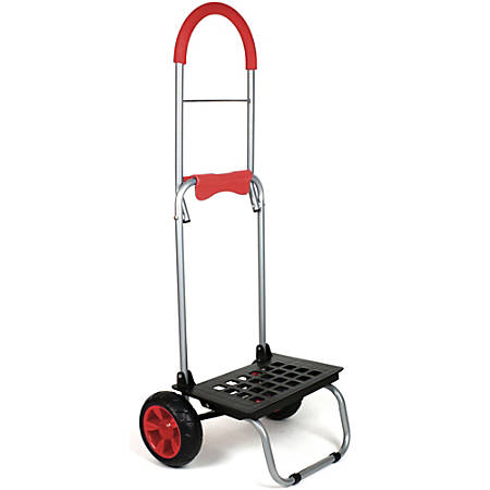 "Dbest Mighty Max Dolly, 160 Lb Capacity, 15""H x 14""W x 38""D, Red"