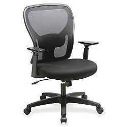 Lorell Mid Back MeshFabric Task Chair