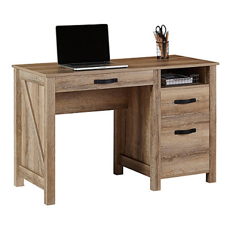 Reale Plank 47 W Writing Desk Coastal Oak Item 6628099
