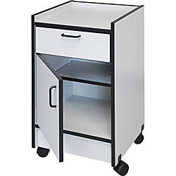 Hausmann Drawer and Cabinet Mobile Cart