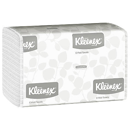 Kleenex® Professional™ Embossed Hand Towels, 150 Towels Per Pack, Case Of 16 Packs