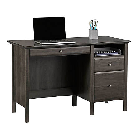 Realspace® Chase Desk, Coastal Gray