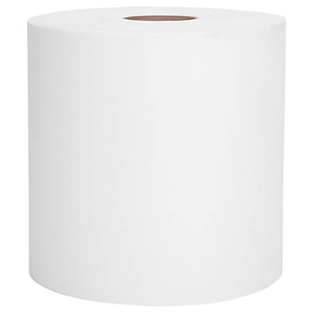 """Scott® Hard Roll 1-Ply Paper Towels, 8"""" x 11"""", 60% Recycled, White, 400', Case Of 12 Rolls"""