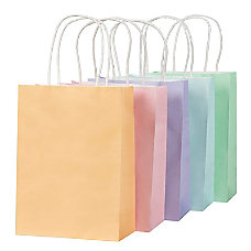 Pastel Gift Bags 25 Pack Small