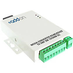 AddOn Serial RS485RS422 to Fiber MMF