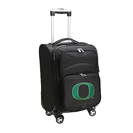"Denco Sports Luggage Expandable Upright Rolling Carry-On Case, 21"" x 13 1/4"" x 12"", Black, Oregon Ducks"