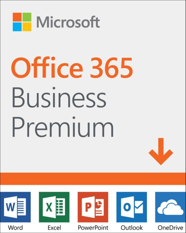 Microsoft Office 365 Business Premium 1 Year Subscription For Pc And