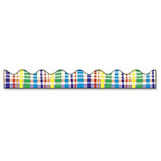 Bordette Decorative Border Perfectly Plaid Design