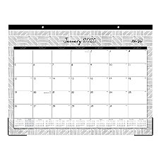 Blue Sky Denver Monthly Desk Pad