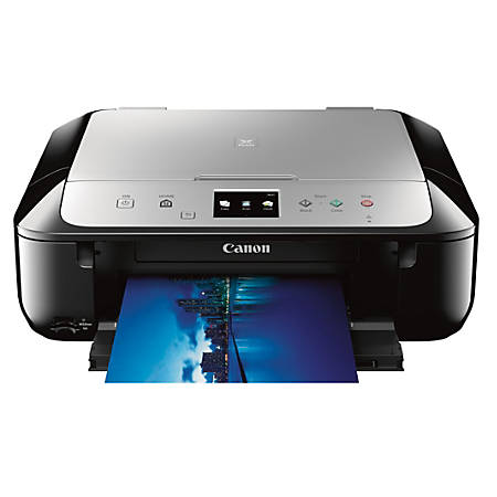canon pixma mg6821 wireless color inkjet all in one printer scanner copier by office depot. Black Bedroom Furniture Sets. Home Design Ideas