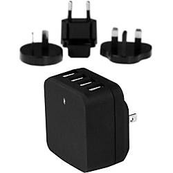 StarTechcom Travel USB Wall Charger 4