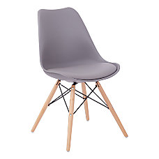 Ave Six Allen Guest Chair GrayNatural