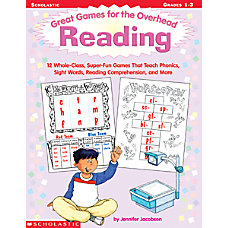Scholastic Overhead Games Reading