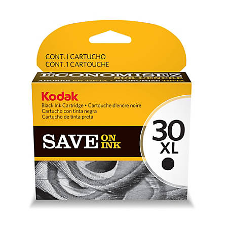 Kodak® 30XL Black Ink Cartridge (1550532) Item # 663819