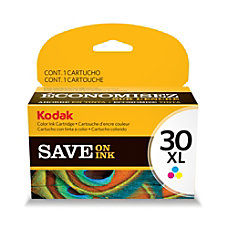 Kodak 30XL Color Ink Cartridge 1341080
