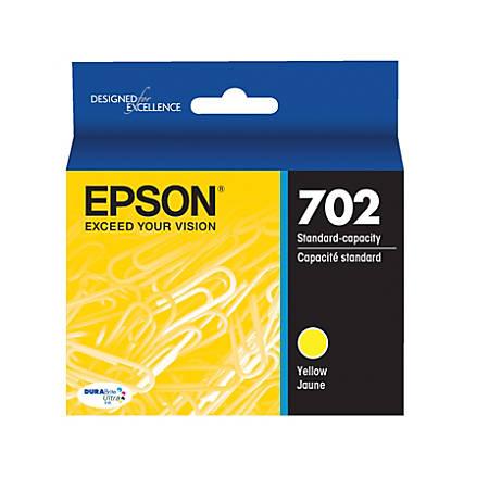 Epson® DuraBrite® Ultra T702420-S Yellow Ink Cartridge