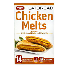 Sandwich Bros Flatbread Chicken Melts 3504
