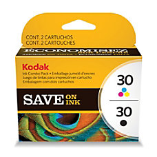 Kodak 30 BlackColor Ink Cartridges Pack