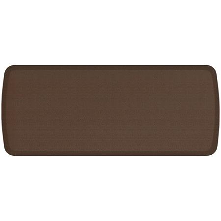 """GelPro Elite Rattan Anti-Fatigue Floor Mat, 20"""" x 48"""", Redwood"""