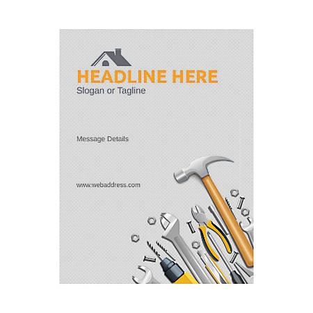 Custom Flyer, Vertical, Repair Tools