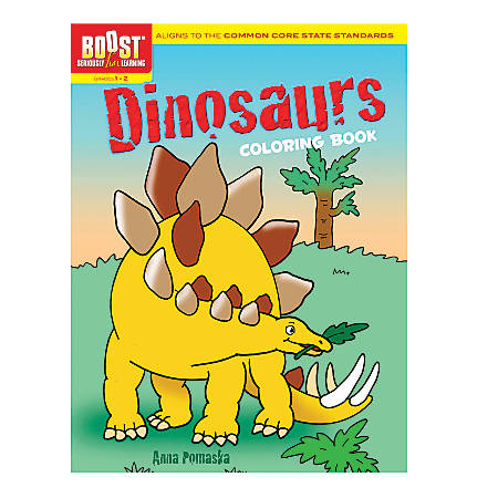 Dover Publications Boost™ Coloring Book, Dinosaurs, Grades 1 - 2