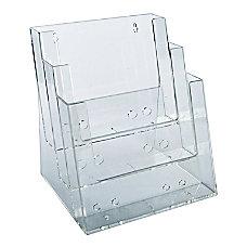 Azar Displays 3 Tier 3 Pocket