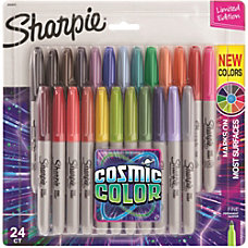 Sharpie Cosmic Color Permanent Markers Fine