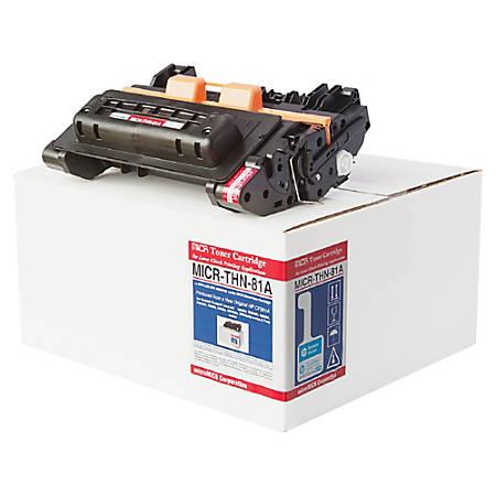 MicroMICR THN-81A (HP 81A / CF281A) Black MICR Toner Cartridge