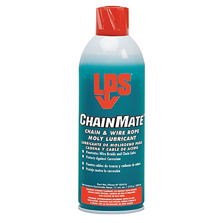 ChainMate Chain & Wire Rope Lubricants, 16 oz Aerosol Can