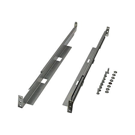 Tripp Lite 4-Post Adjustable Rackmount Shelf Kit Universal Smartrack 1U - 150 lb Load Capacity - Silver