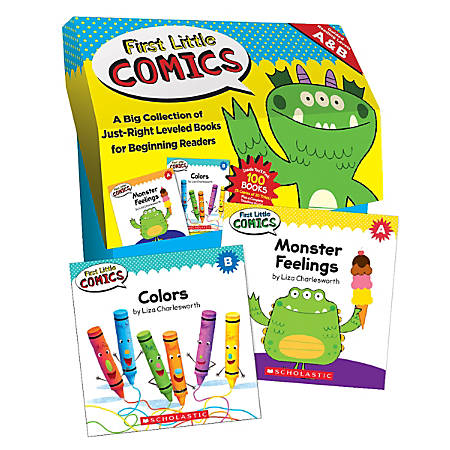 First Little Comics Classroom Set, Pack Of 100