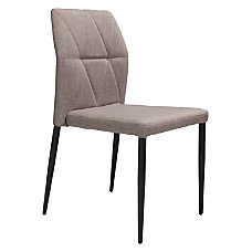 Zuo Modern Revolution Dining Chairs Beige