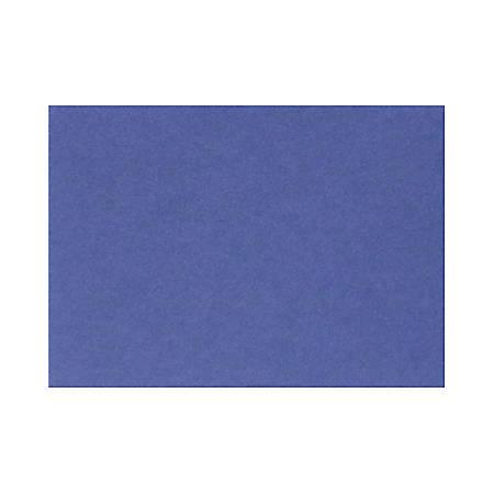"LUX Mini Flat Cards, #17, 2 9/16"" x 3 9/16"", Boardwalk Blue, Pack Of 50"
