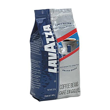 Lavazza Filtro Classico Italian House Blend Coffee, Whole Bean, 2 1/5 lb. Bag