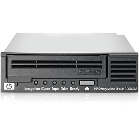 "HPE LTO-5 Ultrium 3000 SAS Internal Tape Drive - LTO-5 - 1.50 TB (Native)/3 TB (Compressed) - SAS - 5.25"" Width - 1/2H Height - Internal - 142.22 MB/s Native - 291.27 MB/s Compressed - Linear Serpentine - 3 Year Warranty"