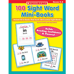 Scholastic 100 Sight Word Mini Books