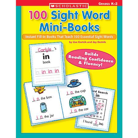 Scholastic 100 Sight Word Mini-Books