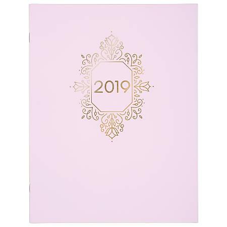 "Cambridge® Ballet Monthly Planner, 8 1/2"" x 11"", Purple, January to December 2019"