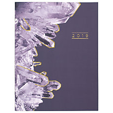 Cambridge Crystal Monthly Planner 8 12