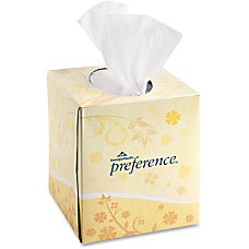 Preference 2 Ply Facial Tissue White
