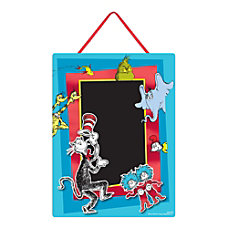 Amscan Dr Seuss Chalkboard Easel Signs
