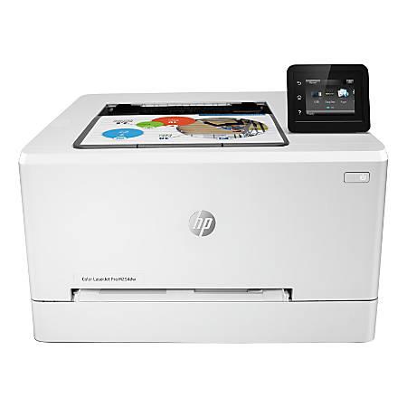 HP LaserJet Pro M254dw Wireless Color Laser Printer, T6B60A