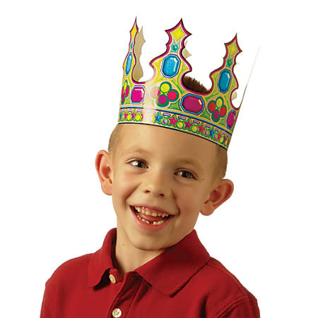 Scholastic Die-Cut Crowns, Pack Of 36