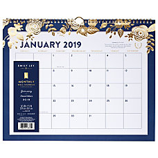 AT A GLANCE Emily Ley Monthly