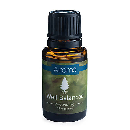 Airome Essential Oils, Well Balanced Blend, 0.5 Fl Oz, Pack Of 2 Bottles