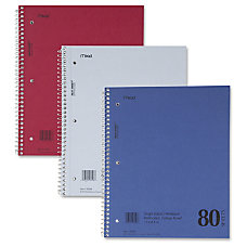 MeadWestvaco Mid Tier Notebook 80 Sheets