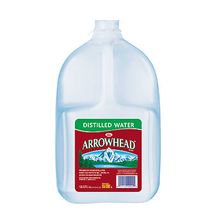 Arrowhead® Distilled Water, 128 Oz Bottles, Case Of 6