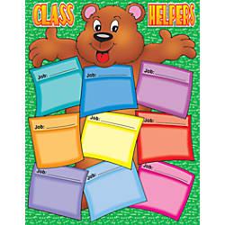Scholastic Practice Chart Bear Helper 17